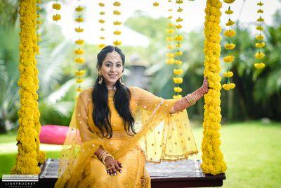 Shraddha + Pravesh   Haldi