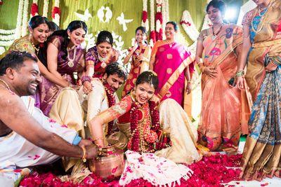 Saket & Sri Lakshmi : Telegu Wedding