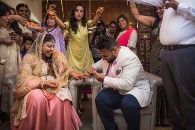 Rehas & Akshaya Engagement
