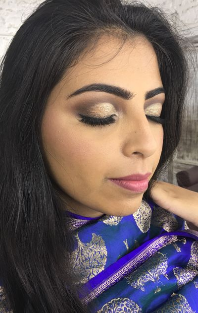 Soft cut crease makeup_PHONE CLICKED PICTURES