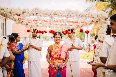 Ashwajeet & Shilpa (Mangalore)