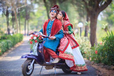 Ankita and Faiz Wedding