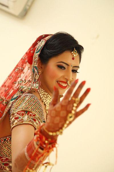 Bride Aastha