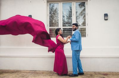 Ramya & Prahas Pre Wedding Shoot