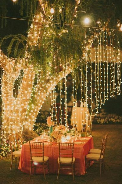 lovely wedding decor