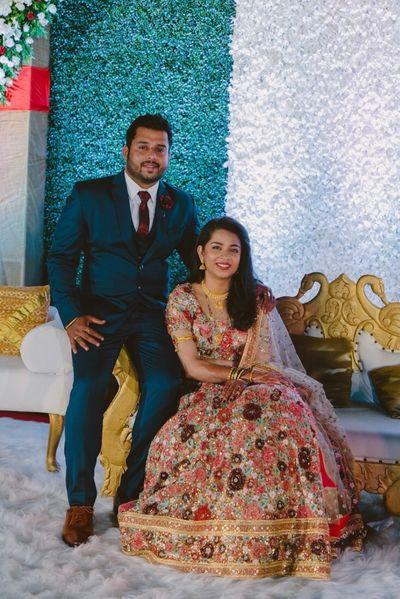 Meghnesh weds Sheetal