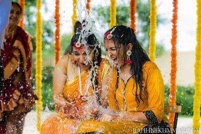 Ramya Prahas Wedding, Haldi, Sangeet, Mehendi