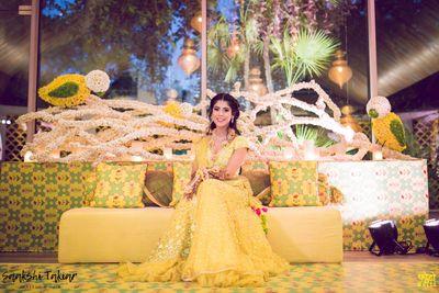 Shruti Raizada Bridal, Mehendi and Cocktail looks