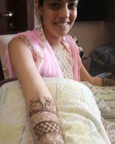 Nikita Bridal Mehendi on 18 th nov, sector 15,faridabad