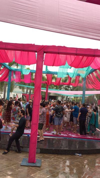 Daman Pool Party