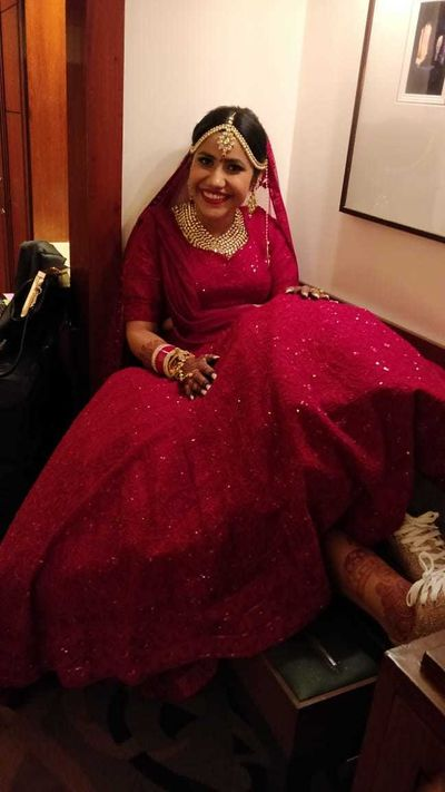 Shreya Handoo bridal mehendi