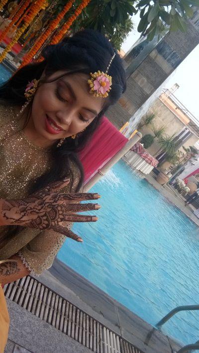 Manisha kansal bridal mehendi