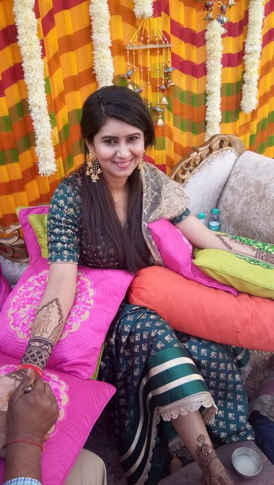 Srijan bridal mehendi at country inn suits by Raddison  at Chattarpur