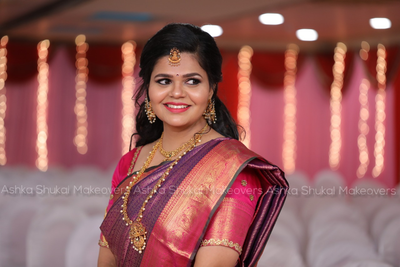 south indian bride Shrivali