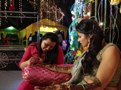 radhika agrawal'mehendi