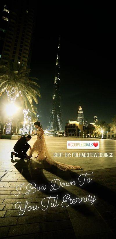 POLKA DOTS COUTURE campaign shoot in dubai