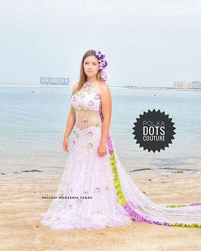international polka dots brides
