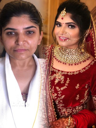 Bride Nitika and her Sister