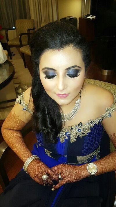 Reception n Sangeet  of my US Bride Sushma Tilani