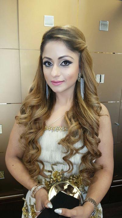 Brunch Event Makeup for Naazi Kohli