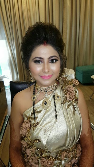 Bride Reny Reception Makeup