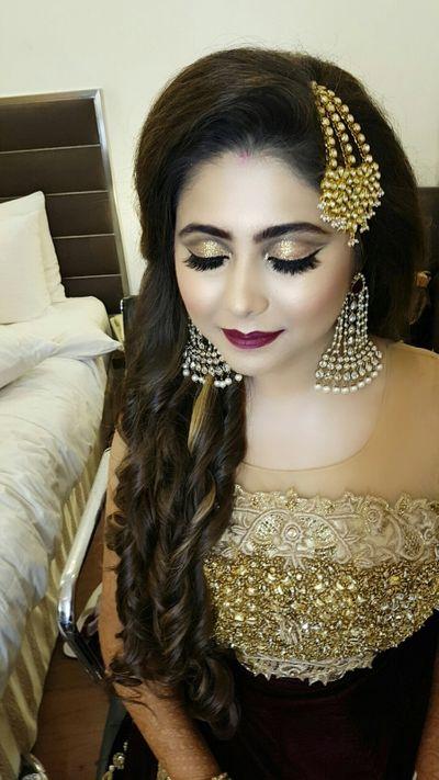 Sangeet Look for Bride Reny Amaesar