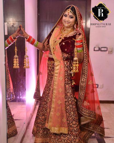 Deeksha Singh wedding - HD Makeup