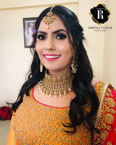 Deepali's Emgagement - HD Makeup