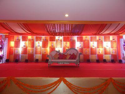 Sakshi and Aatish wedding decor