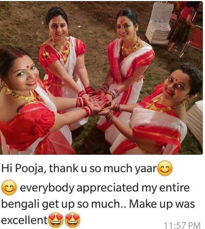 Manisha (Bengali Makeup)