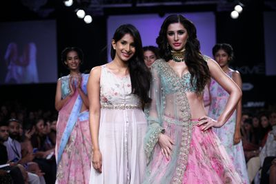 Anushree Reddy at Fashion Week 2015