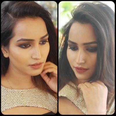 Ankita Party Makeup