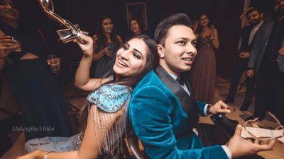 Anisha's Cocktail & Wedding
