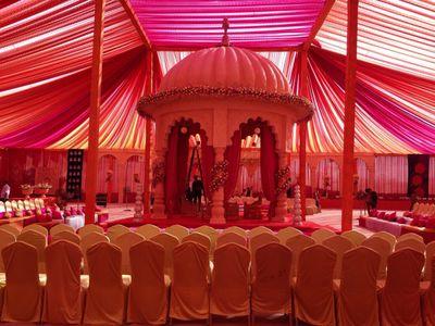 Rajwada theme decor