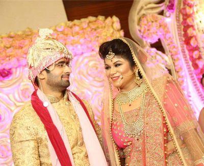 Aanchal's gorgeous bridal