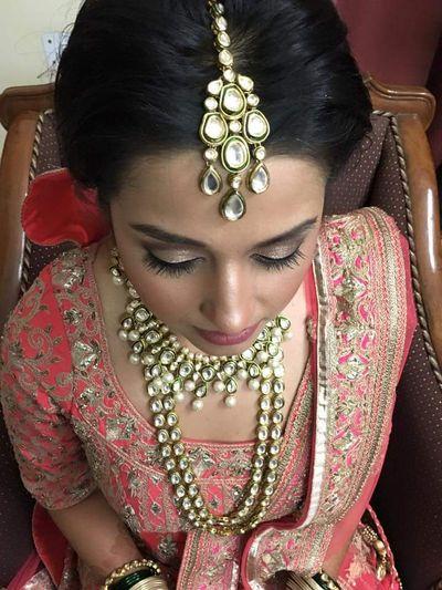 mesmerising bride samidha