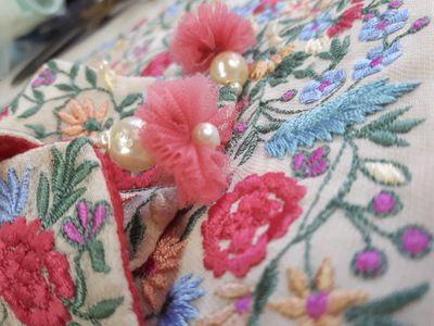 Romance of resham embroidery