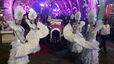 Bride- Groom Welcome
