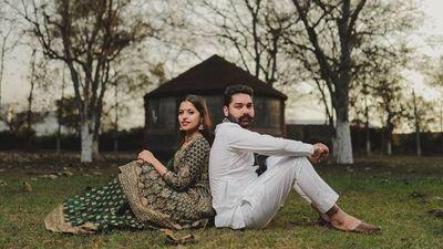 Ravneet & Robin - Safarsaga Films - Pre Wedding Shoot Photographer - Chandigarh