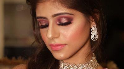 Akansha's Engagement Glam
