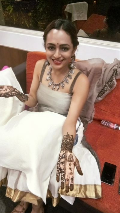 Varsha bridal mehendi at Heritage village manesar