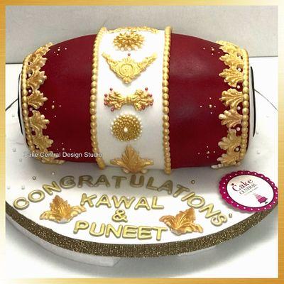 Mehndi  Cakes Designs