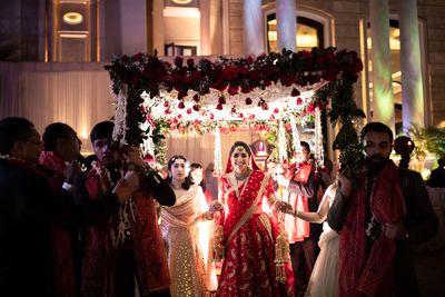 Arpita & Nikhil's wedding in Ludhiana