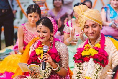 Deepali & Devesh - Destination Wedding in Noor us Sabah Palace, Bhopal