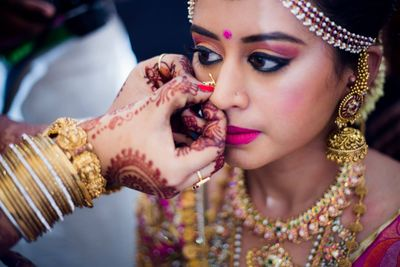 Savitha and Kishore, A south indian wedding