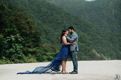 Roma & Karan - Couple Shoot - Safarsaga Films - Pre Wedding Shoot Photographer in Chandigarh