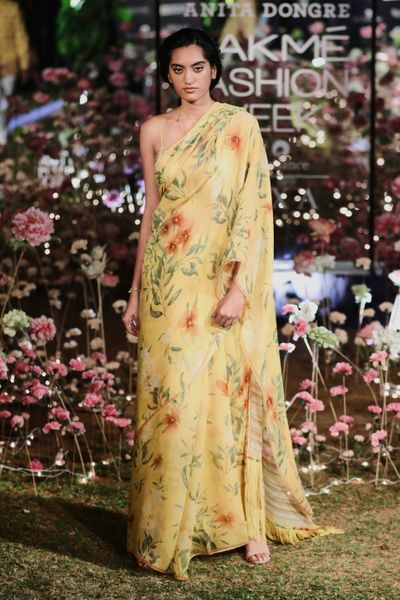 Printed Saris By Anita Dongre
