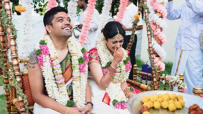 Janani & Santosh - A Tamil Brahmin wedding