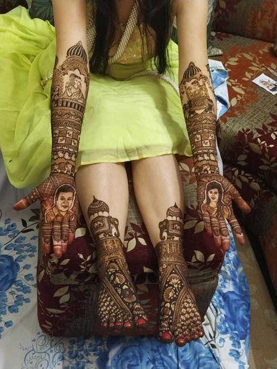 Bride Mansi Dagda