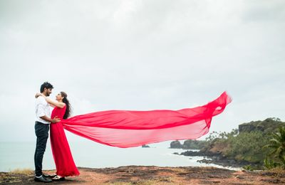 Harshita X Dhrshan Pre wedding Shoot @Goa